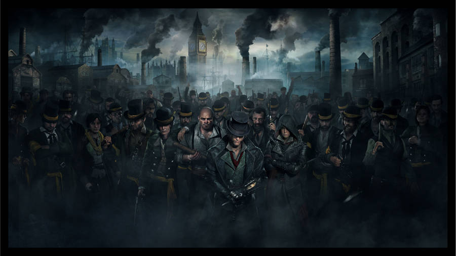 Assassin's Creed Syndicate – Map with chests