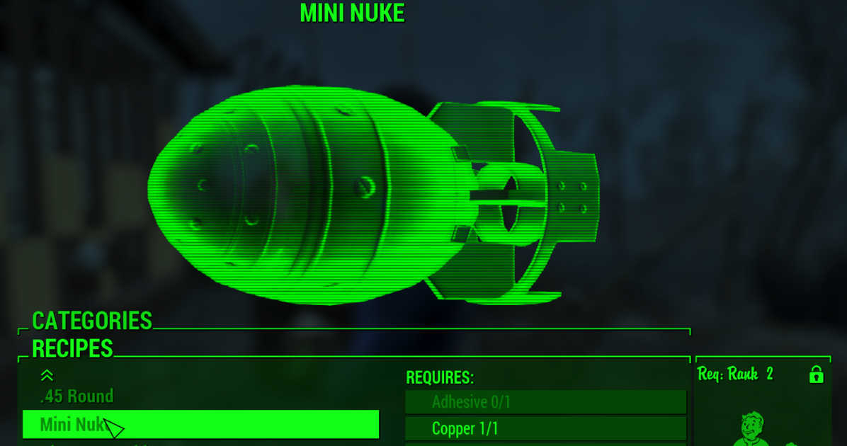 Can You Craft Ammo In Fallout