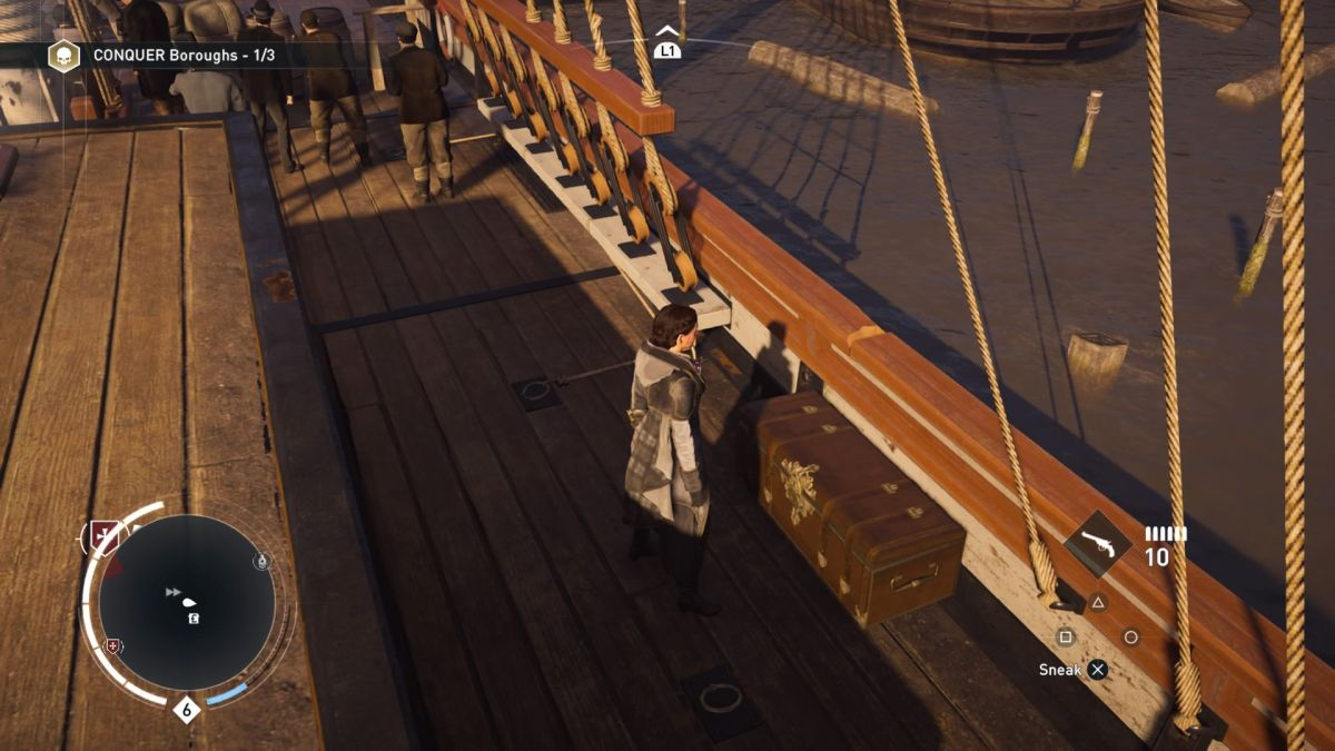 Assassin's Creed Syndicate – How to find sea silk