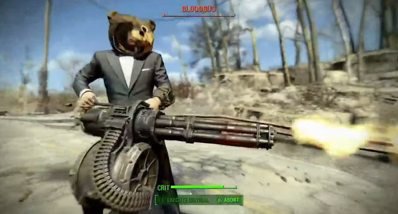 Fallout  Can Only Build Platform