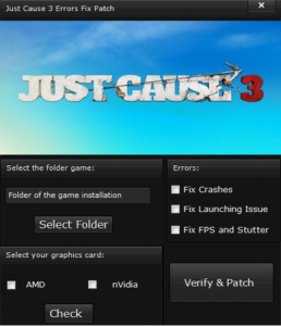 How to fix Just Cause 3 errors