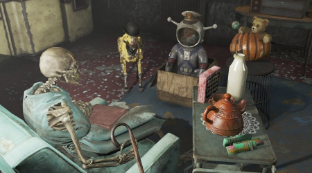 Some weapons of Fallout 4 can be modernized with two legendary effects
