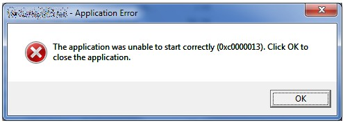 How to fix application error 0xc0000135?