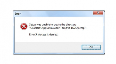 How to fix Error 5: Access is denied