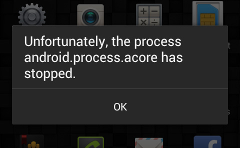 How to fix error «Unfortunately, the process.android.media has stopped» on any Android device?