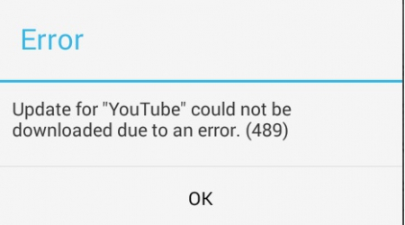 How to fix error 489 in Google Play Store