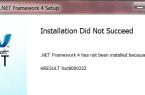 How to fix the error hresult 0xc8000222