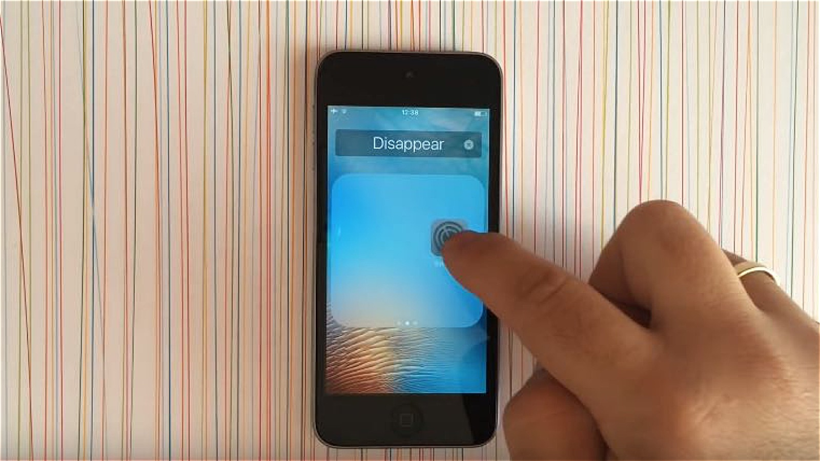 How to hide app in iOS 9 without jailbreak