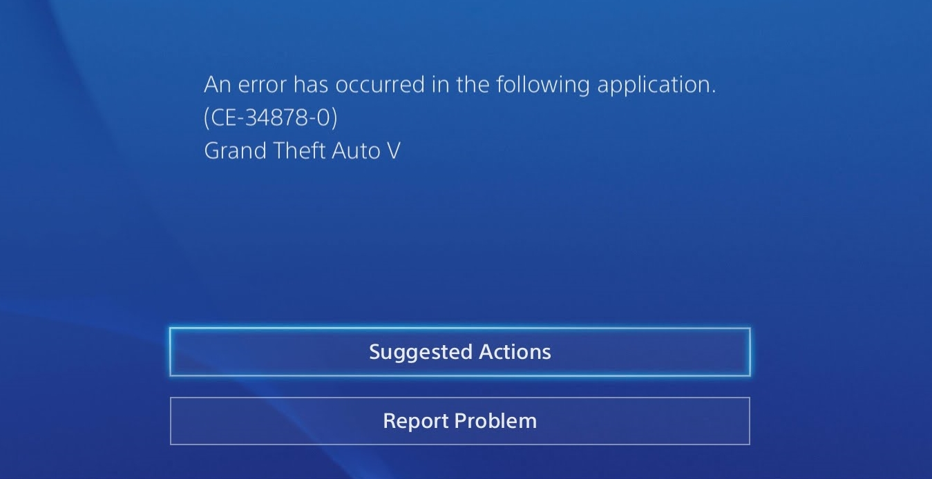 gta online connection issues ps4