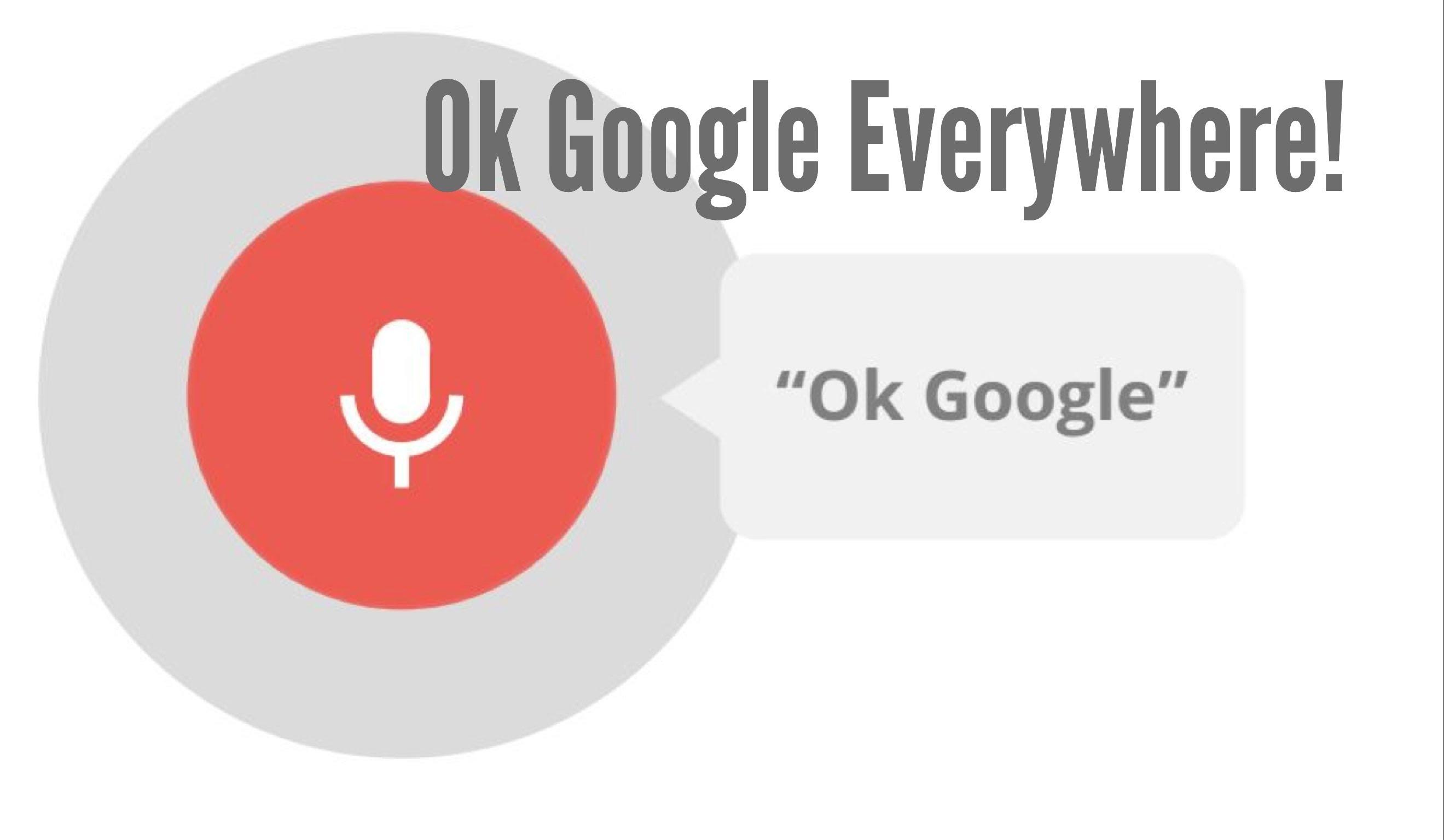 ok google ok