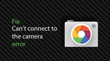 Fail to connect to camera service