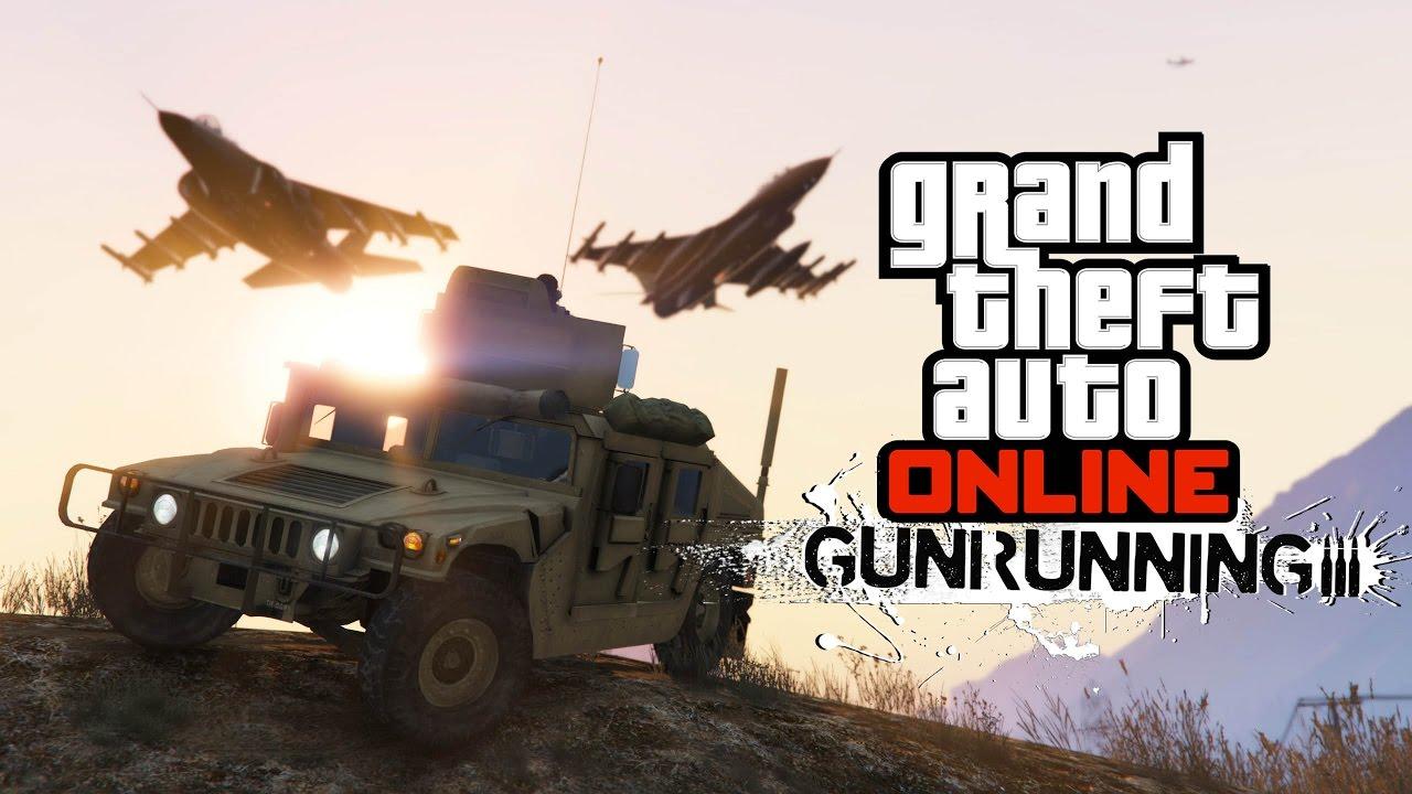 New Cars Gta  Gunrunning